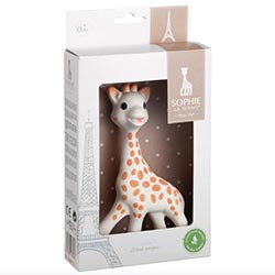 Sophie the Giraffe i presentbox